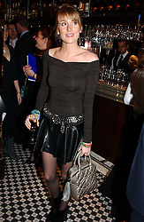 LADY EMILY COMPTON at a fund raising dinner hosted by Marco Pierre White and Frankie Dettori's in aid of Conservative Party's General Election Campaign Fund held at Frankie's No.3 Yeoman's Row,æLondon SW3 on 17th January 2005.<br /><br />NON EXCLUSIVE - WORLD RIGHTS