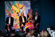 BARRY HUMPHRIES; KEVIN SPACEY; SIR TIME RICE; DAVID WALLIAMS. The Ormeley dinner in aid of the Ecology Trust and the Aspinall Foundation. Ormeley Lodge. Richmond. London. 29 April 2009
