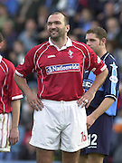 Nationwide Division 2 27-10-2001.Wycombe Wanderers FC v Swindon Town FC:.Neil (Razor) Ruddock.Assistant coach Swindon Town FC.... ...........