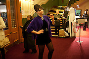 Gizzi Erskine, Press night of Cirque du Soleil's new show 'Totem' at The Royal Albert Hall.  London. January 5, 2011<br /> <br /> -DO NOT ARCHIVE-© Copyright Photograph by Dafydd Jones. 248 Clapham Rd. London SW9 0PZ. Tel 0207 820 0771. www.dafjones.com.