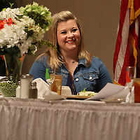 Lindsey Smith Dill spoke Saturday at the Sister S.O.A.R. empowerment luncheon held at the Summit center