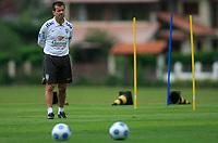 20090325: TERESOPOLIS, BRAZIL – Brazil National Team preparing match against Equador, at Teresopolis training center. In picture: Dunga (coach). PHOTO: CITYFILES