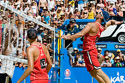 Todd Rogers of USA at A1 Beach Volleyball Grand Slam tournament of Swatch FIVB World Tour 2010, final, on August 1, 2010 in Klagenfurt, Austria. (Photo by Matic Klansek Velej / Sportida)