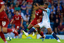 BLACKBURN, ENGLAND - Thursday, July 19, 2018: Liverpool's Virgil van Dijk during a preseason friendly match between Blackburn Rovers FC and Liverpool FC at Ewood Park. (Pic by David Rawcliffe/Propaganda)