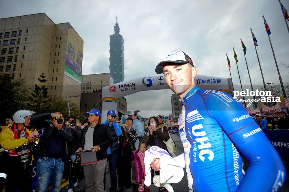 2014 Tour de Taiwan / stage1 / Taiwan / KEOUGH Luke (USA) / UnitedHealthcare