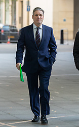 © Licensed to London News Pictures. 21/10/2018. London, UK. Shadow Secretary of State for Exiting the European Union Keir Starmer arriving at BBC Broadcasting House to appear on The Andrew Marr Show this morning. Photo credit : Tom Nicholson/LNP
