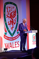 NEWPORT, WALES - Saturday, May 21, 2016: Wales elite performance director Ian Rush at the Under-16's cap presentation at the Celtic Manor Resort. (Pic by David Rawcliffe/Propaganda)