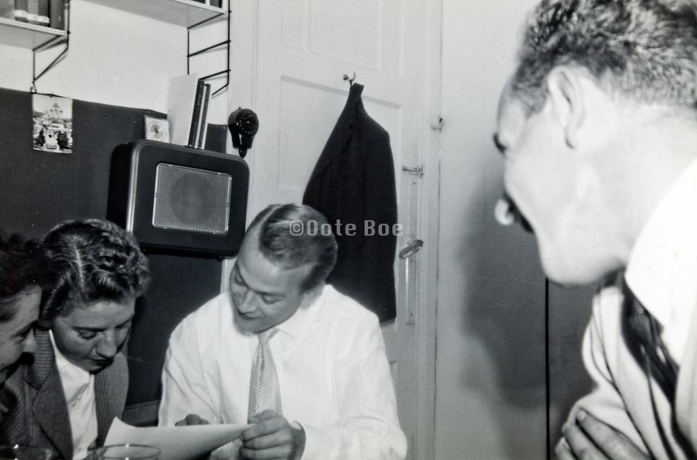 students 1950s Netherlands