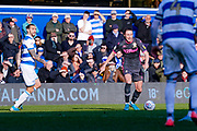 Leeds United defender Luke Ayling (2) during the EFL Sky Bet Championship match between Queens Park Rangers and Leeds United at the Kiyan Prince Foundation Stadium, London, England on 18 January 2020.