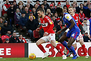 Middlesbrough midfielder Jonathan Howson (16)  during the EFL Sky Bet Championship match between Middlesbrough and Ipswich Town at the Riverside Stadium, Middlesbrough, England on 29 December 2018.