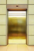 Empty open Elevator