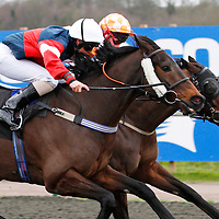 Guards Chapel and Adam Kirby winning the 2.00 race