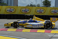 Marco Andretti, Shell Houston GP, Reliant Park, Houston, TX USA 6/29/2014