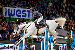 Nielsen Denis, GER, DSP Cashmoaker<br /> Stuttgart - German Masters 2018<br /> © Hippo Foto - Stefan Lafrentz