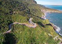 Irimahuwhero lookout in Paparoa National Park, West Coast, South Island