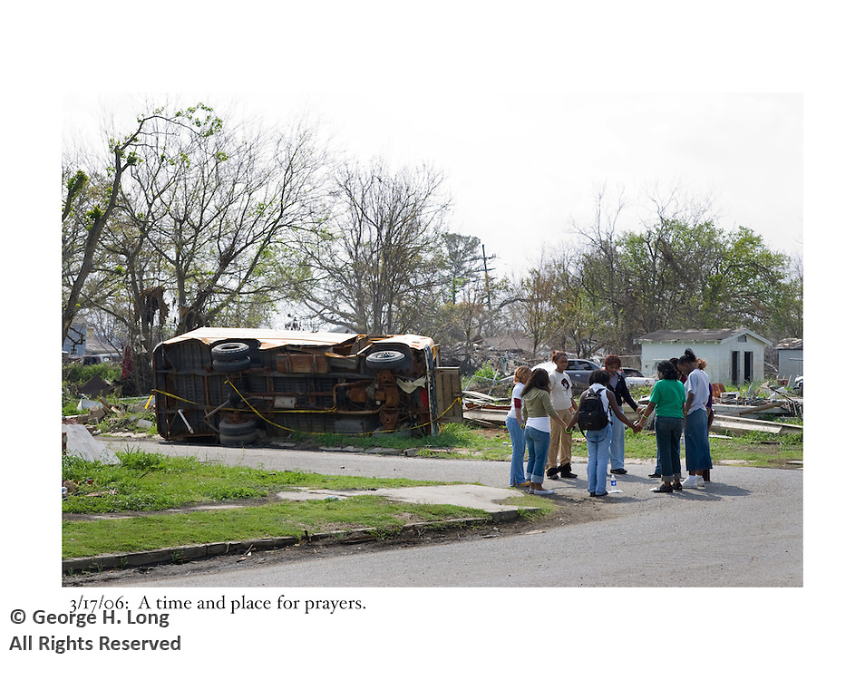 3/17/06:  Definitely the time and place for prayers; Ninth Ward breach.