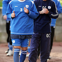 St Johnstone Training...26.01.07<br />Goran Stanic and Owen Coyle pictured during training this morning<br />see story by Gordon Bannerman Tel: 01738 553978 or 07729 865788<br />Picture by Graeme Hart.<br />Copyright Perthshire Picture Agency<br />Tel: 01738 623350  Mobile: 07990 594431