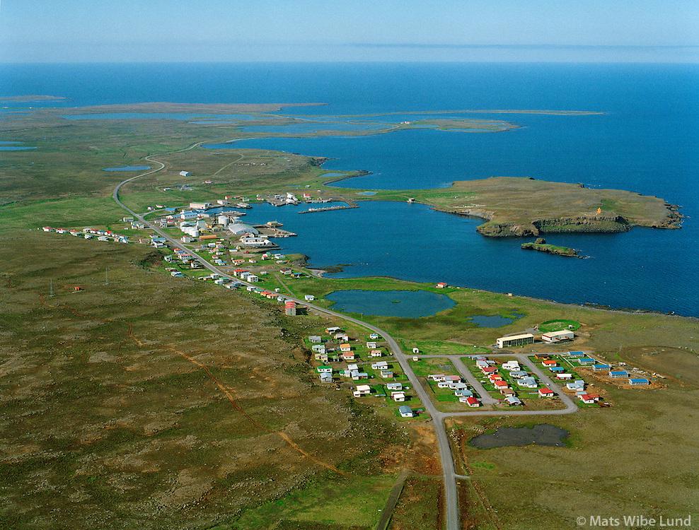 Raufarhöfn séð til norðurs / Raufarhofn viewing north