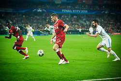 James Milner of Liverpool in action during the UEFA Champions League final football match between Liverpool and Real Madrid at the Olympic Stadium in Kiev, Ukraine on May 26, 2018.Photo by Sandi Fiser / Sportida