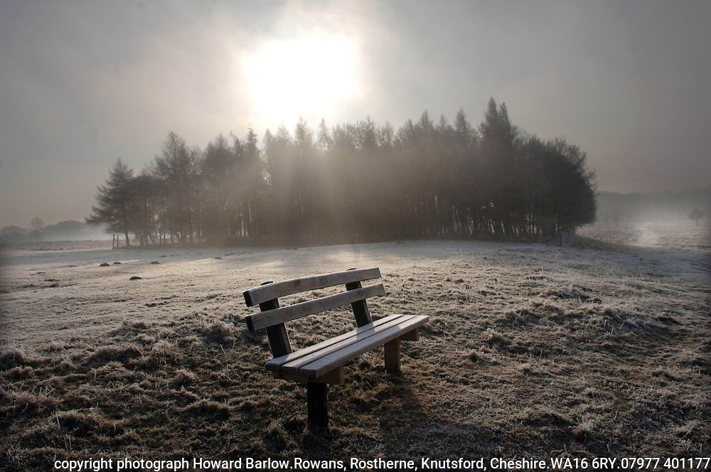 Photograph by Howard Barlow.copyright Howard Barlow.MARCH 2006.A safe TORY seat, early morning walk in Tatton Park, Knutsford in Cheshire.