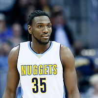 16 November 2016: Denver Nuggets forward Kenneth Faried (35) is seen during the Denver Nuggets 120-104 victory over the Phoenix Suns, at the Pepsi Center, Denver, Colorado, USA.