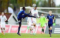 Fotball , 5. mai 2014 , Eliteseriene , Tippeligaen , Stabæk - Vålerenga<br /> Enock Kofi Adu , Stabæk<br /> Diego Calvo Fonseca , VIF