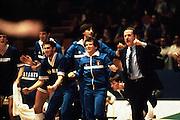 Europei Francia 1983 - Girone eliminatorio Limoges: Esultanza panchina azzurra