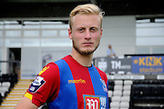 Christian Scales striking a pose after the Final Third Development League match between U21 Crystal Palace and U21 Hull City at Selhurst Park, London, England on 10 August 2015. Photo by Michael Hulf.
