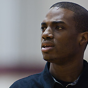 12/27/11 Wilmington DE: South Shore Head Coach Anwar Gladden during a Diamond State Classic game Tuesday Dec. 27, 2011 at St. Elizabeth High School in Wilmington Delaware.<br /> <br /> Special to The News Journal/SAQUAN STIMPSON
