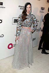 February 24, 2019 - West Hollywood, CA, USA - LOS ANGELES - FEB 24:  Lydia Hearst at the Elton John Oscar Viewing Party on the West Hollywood Park on February 24, 2019 in West Hollywood, CA (Credit Image: © Kay Blake/ZUMA Wire)