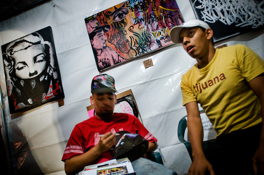 The art and music scene in Tijuana, Mexico , that inspires Nortec Collectives music..Photographer: Chris Maluszynski /MOMENT