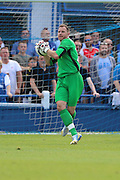 AFC Wimbledon Goalkeeper Ryan Clarke (26) during the Pre-Season Friendly match between Margate and AFC Wimbledon at Hartsdown Park, Margate, United Kingdom on 16 July 2016. Photo by Stuart Butcher.