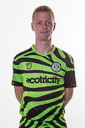Forest Green Rovers Nathan McGinley(19) during the official team photocall for Forest Green Rovers at the New Lawn, Forest Green, United Kingdom on 29 July 2019.