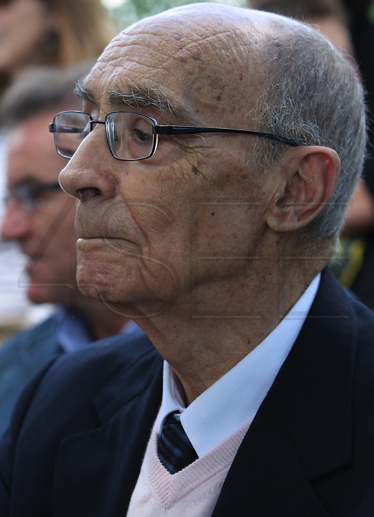 Portuguese Nobel writer Jose Saramago  during a homage from saramago's home village Azinhaga (Goleg&Atilde;&pound;)<br /> Foto Paulo Cunha