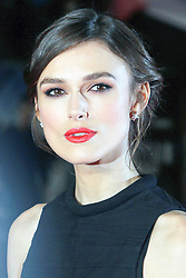 © Licensed to London News Pictures. 20/01/2014, UK. Keira Knightley, Jack Ryan: Shadow Recruit - European Film Premiere, Vue West End, Leicester Square, London UK, 20 January 2014. Photo credit : Richard Goldschmidt/Piqtured/LNP