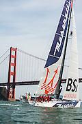 Maserati arrival in San Francisco, CA
