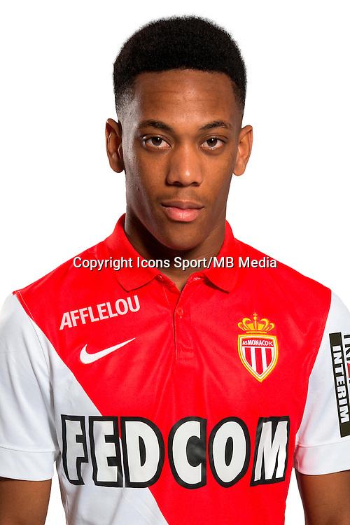 Anthony MARTIAL - 29.08.2014 - Photo officielle Monaco - Ligue 1 2014/2015<br /> Photo : Stephane Senaux / AS Monaco / Icon Sport