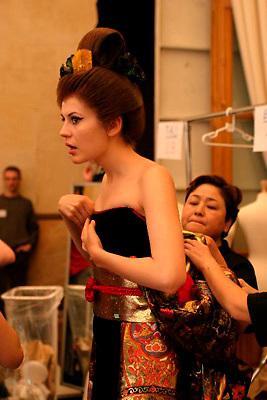 Yumi Katsura<br /> D&eacute;fil&eacute; Haute Couture Automne Hiver 2004/2005