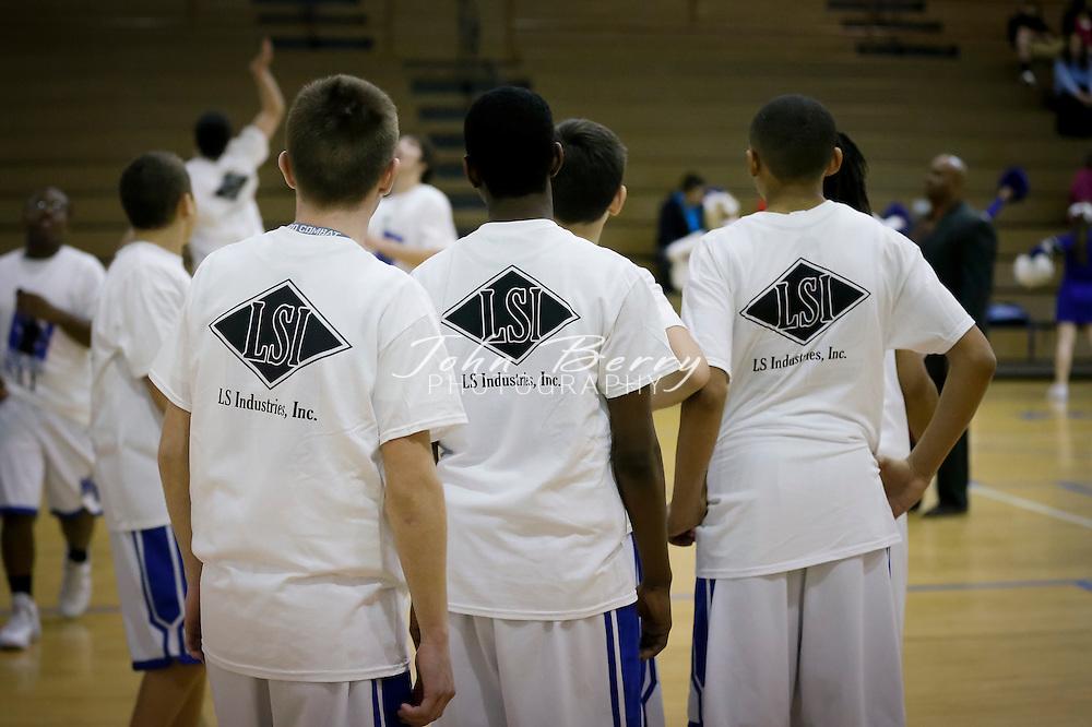 January 17, 2014:   MCHS JV Boys Basketball vs Clarke.  Madison loses to Clarke 60-47.