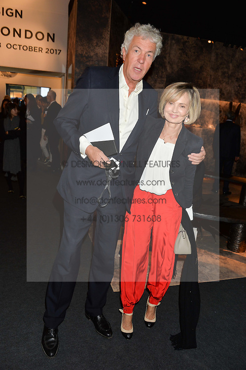 HENRY WYNDHAM and COUNTESS MAYA VON SCHOENBURG at the PAD London 10th Anniversary Collector's Preview, Berkeley Square, London on 3rd October 2016.