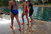Barton Springs Pool in Austin Texas, July 6, 2008. Barton Springs Pool iis a natural springfed pool that has come under increasing pressure from urbanization of the Texas Hill Country.