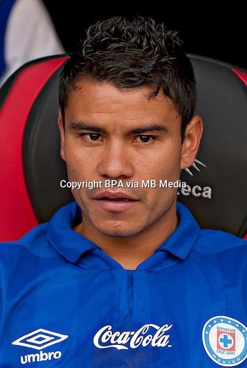 Mexico League 2013-2014 - First Division / <br /> Cruz Azul Fc  / Mexico - <br /> Pablo Barrera