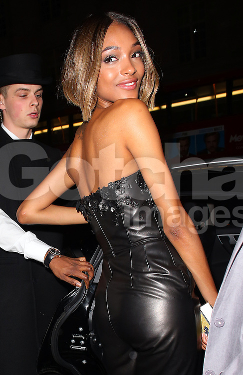 Jourdan Dunn atttends the British Fashion Awards After Party at Cafe Royal in London, UK. 01/12/2014<br /> BYLINE MUST READ : JAMESY/GOTCHA IMAGES<br /> <br /> Copyright by &copy; Gotcha Images Ltd. All rights reserved.<br /> Usage of this image is conditional upon the acceptance <br /> of Gotcha Images Ltd, terms and conditions available at<br /> www.gotchaimages.com
