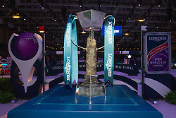 Trophy<br /> Longines FEI World Cup™ Jumping Final 2013/2014<br /> Lyon 2014<br /> © Dirk Caremans
