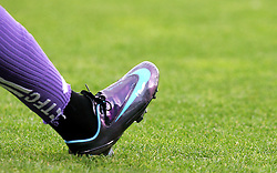 Illustration of Nike boot. Toulouse v PSG, France Ligue 1, Toulouse, France, 3rd May 2008.