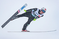 11.03.2018, Holmenkollen, Oslo, NOR, FIS Weltcup Ski Sprung, Raw Air, Oslo, im Bild Andreas Stjernen (NOR) // Andreas Stjernen of Norway during the 1st Stage of the Raw Air Series of FIS Ski Jumping World Cup at the Holmenkollen in Oslo, Norway on 2018/03/11. EXPA Pictures © 2018, PhotoCredit: EXPA/ JFK