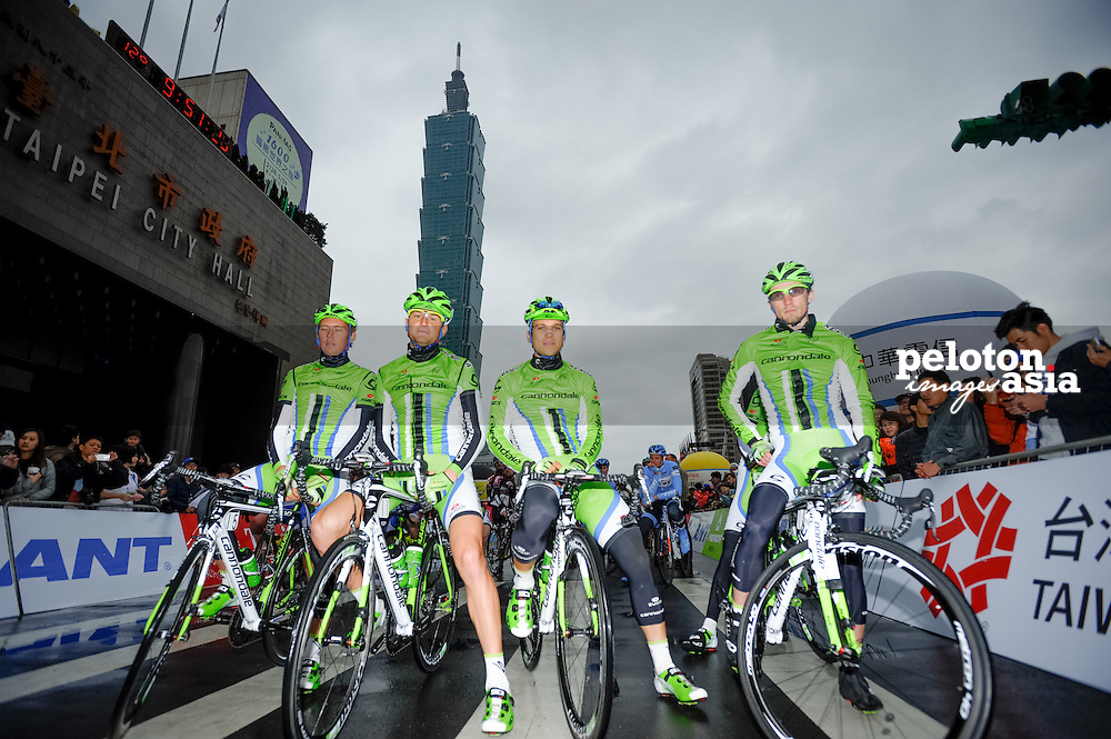 2014 Tour de Taiwan / stage1 / Taiwan / Cannondale / Taipei101