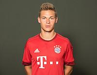 German Soccer Bundesliga 2015/16 - Photocall of FC Bayern Munich on 16 July 2015 in Munich, Germany: Joshua Kimmich