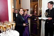 FRANCESCA ANNIS; ZOE WANNAMAKER, 56th London Evening Standard Theatre Awards. Savoy Hotel. London. 28 November 2010.  -DO NOT ARCHIVE-© Copyright Photograph by Dafydd Jones. 248 Clapham Rd. London SW9 0PZ. Tel 0207 820 0771. www.dafjones.com.