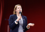 Rainbow Hamlets Mayor of Tower Hamlets Hustings in Bethnal Green, London, Great Britain <br /> 1st June 2015 <br /> <br /> <br /> Elaine Bagshaw <br /> Liberal Democrats candidate<br /> <br /> <br /> Photograph by Elliott Franks <br /> Image licensed to Elliott Franks Photography Services